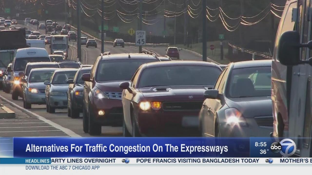 Weekend Watch: Traffic on Chicago area expressways