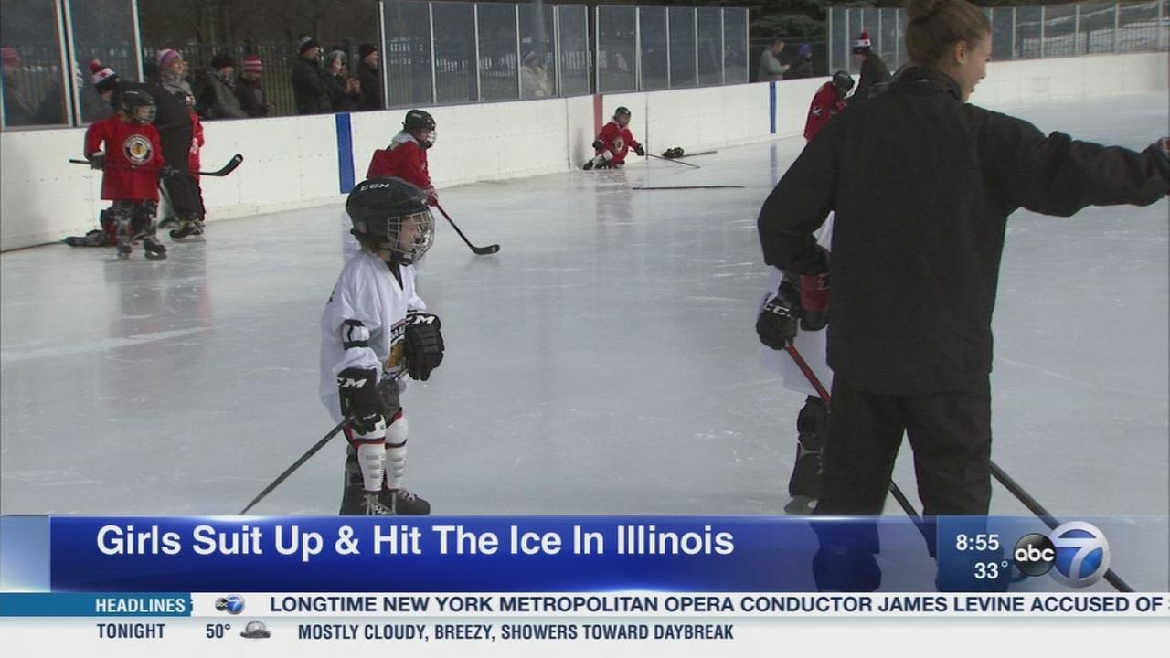 Daily Herald: Women?s hockey increasing in popularity