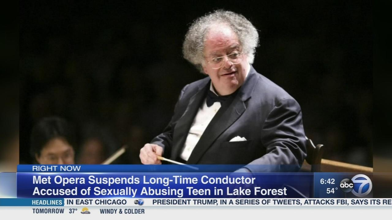 Met Opera suspends conductor after sex abuse allegation