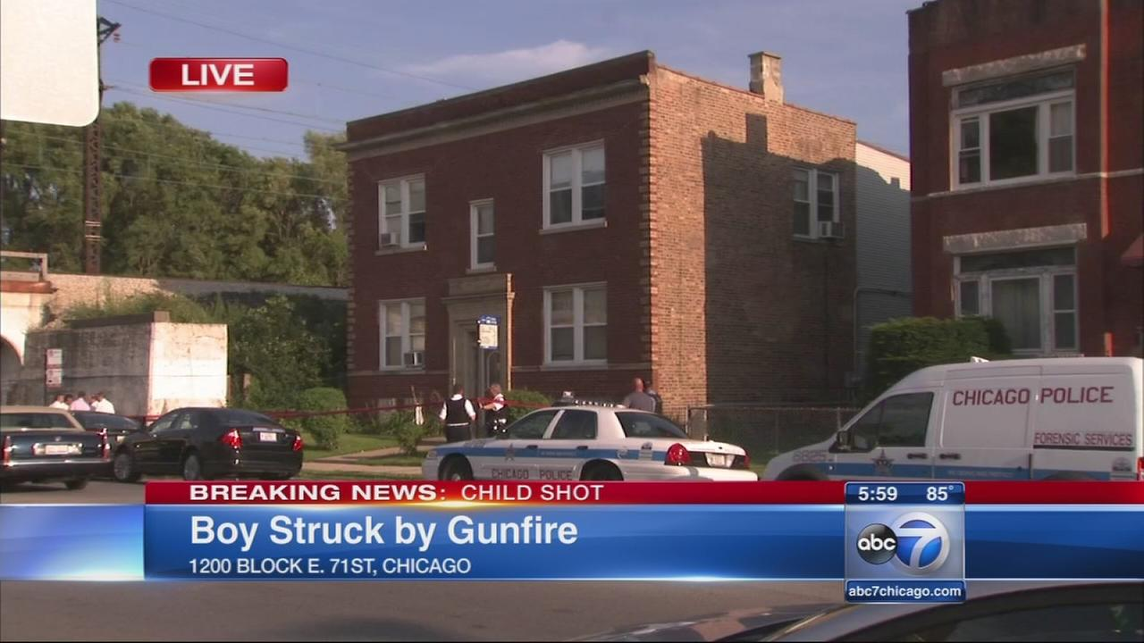 Boy shot in Grand Crossing