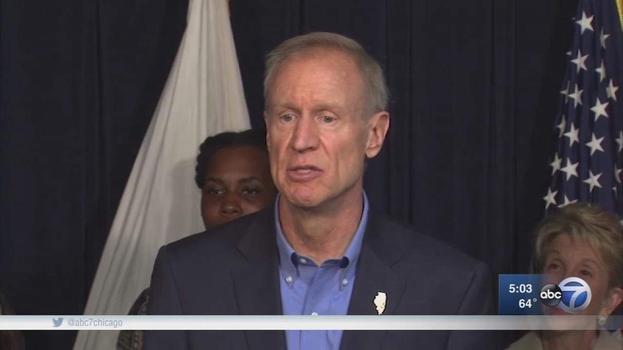 Gov. Rauner, facing GOP primary challenge, reacts to criticism by blaming Madigan