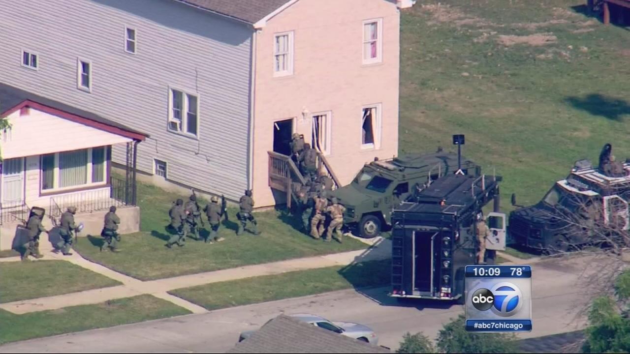 Details released in Harvey standoff