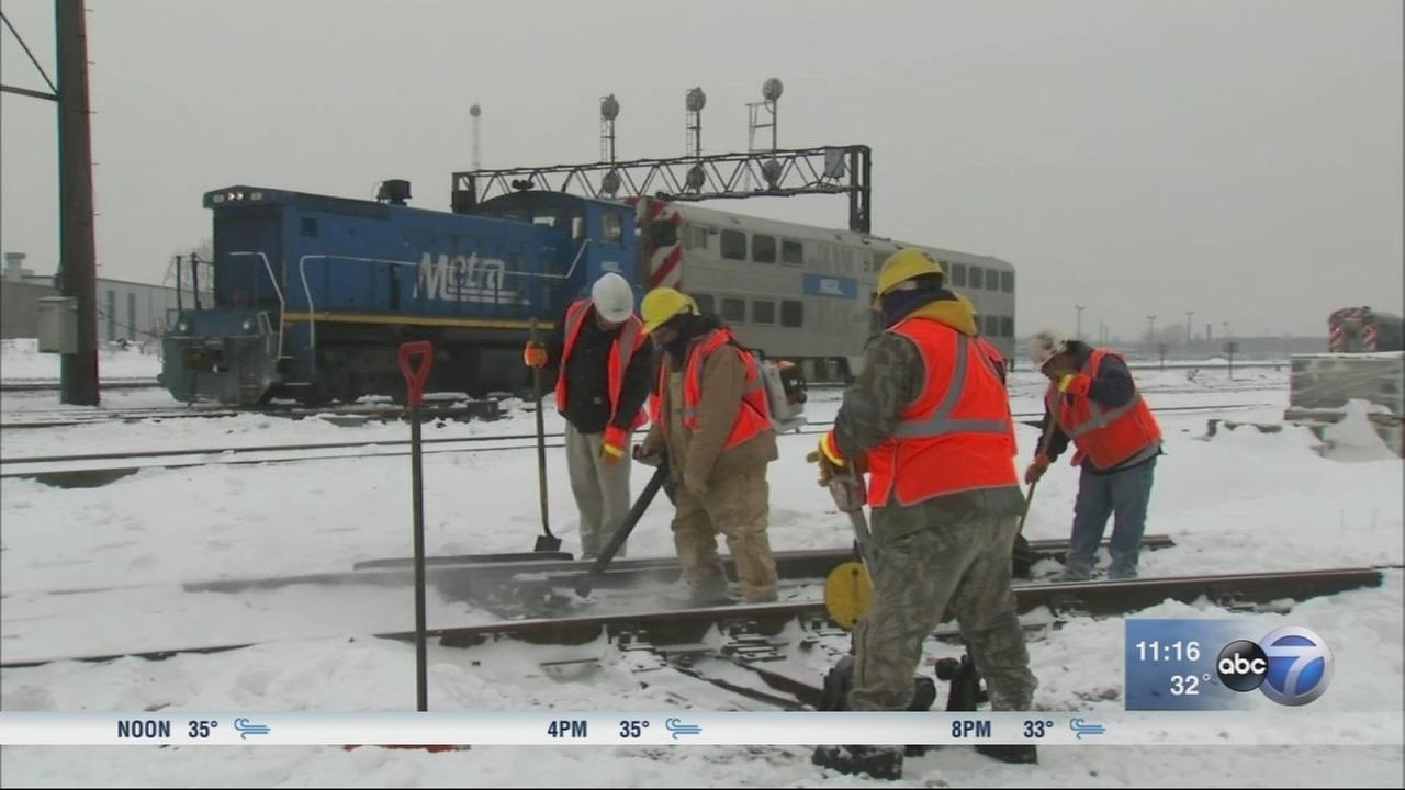 Metra prepares for winter