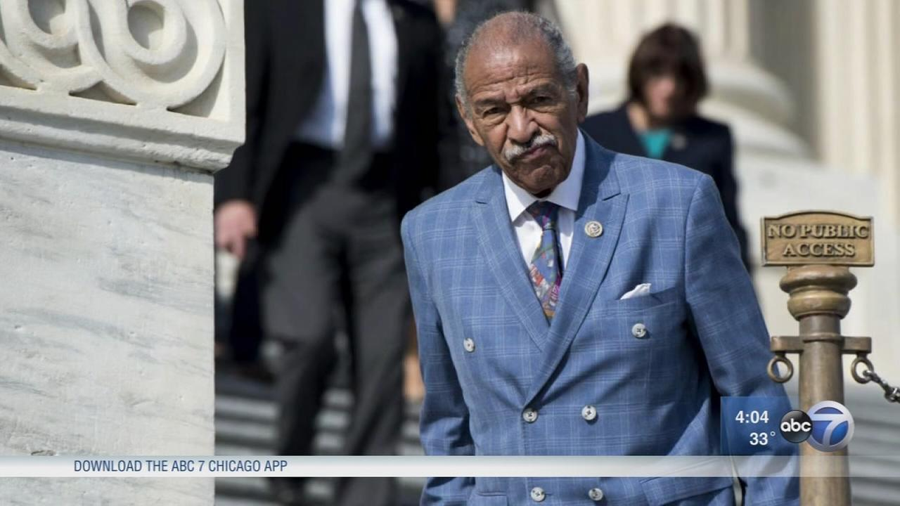 Conyers resigns from Congress Tuesday amid harassment allegations
