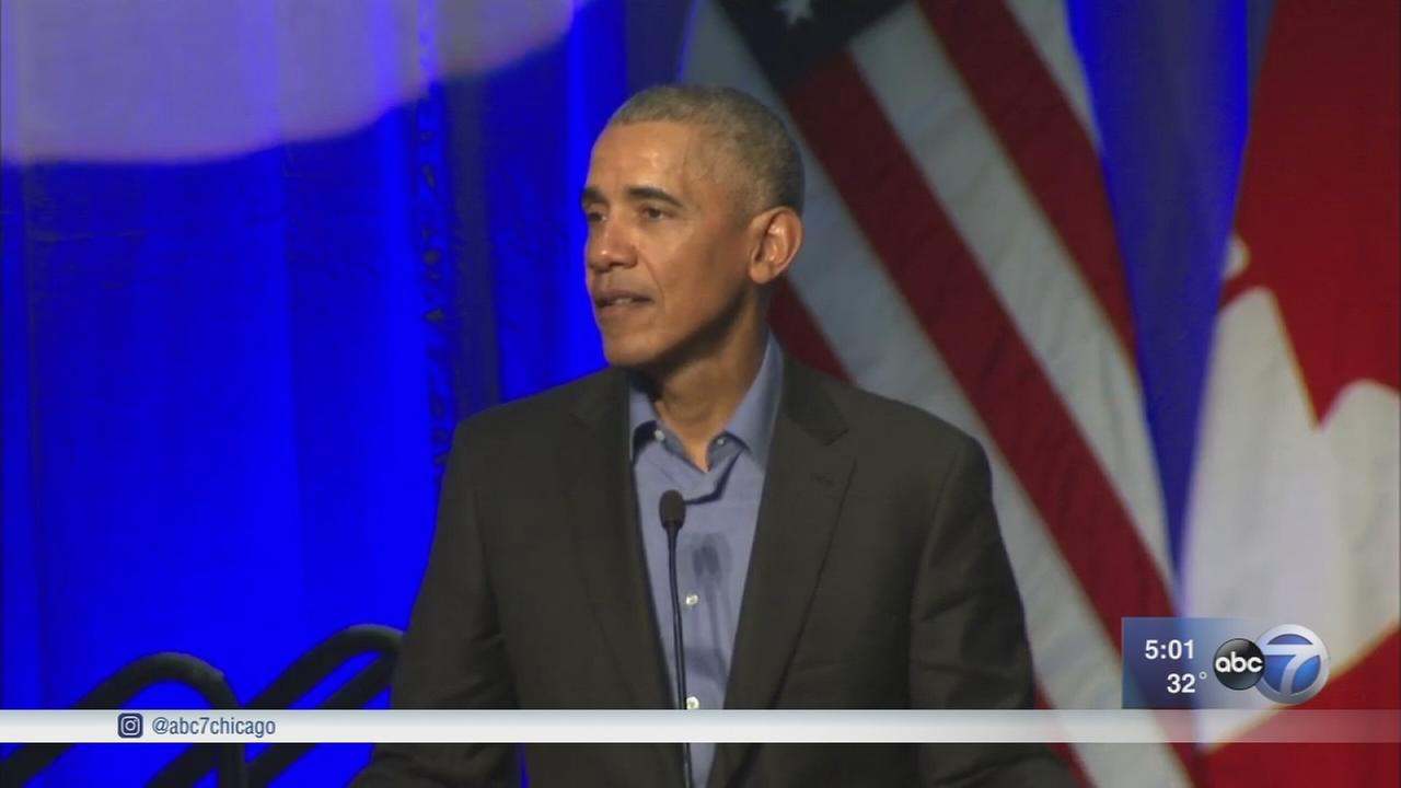 President Obama addresses mayors at climate change summit