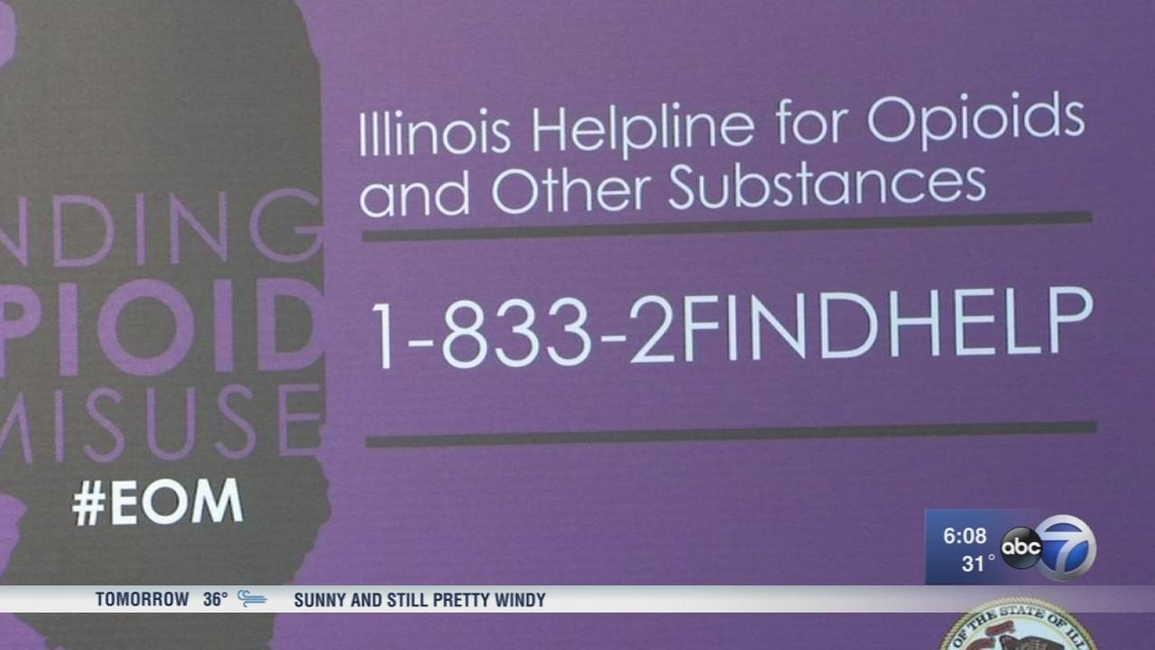 ILLINOIS? NEW FRONT-LINE WEAPON AGAINST OPIOIDS: A TELEPHONE