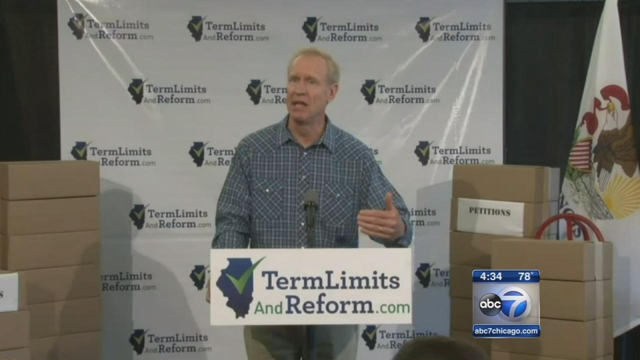Rauner appeals for term limits proposal on November ballot
