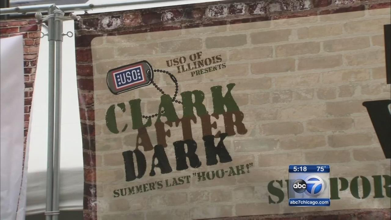 Clark After Dark festival supports US troops