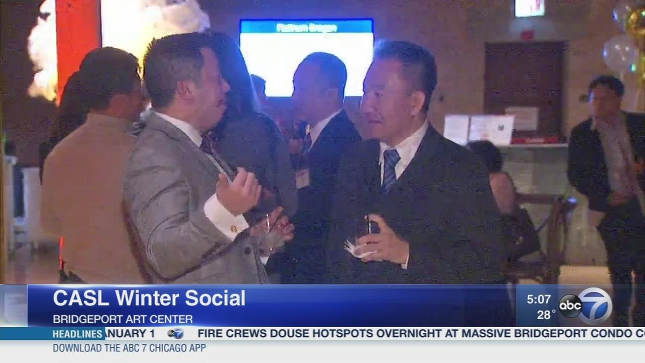 Chinese American Service League toasts new CEO at winter social