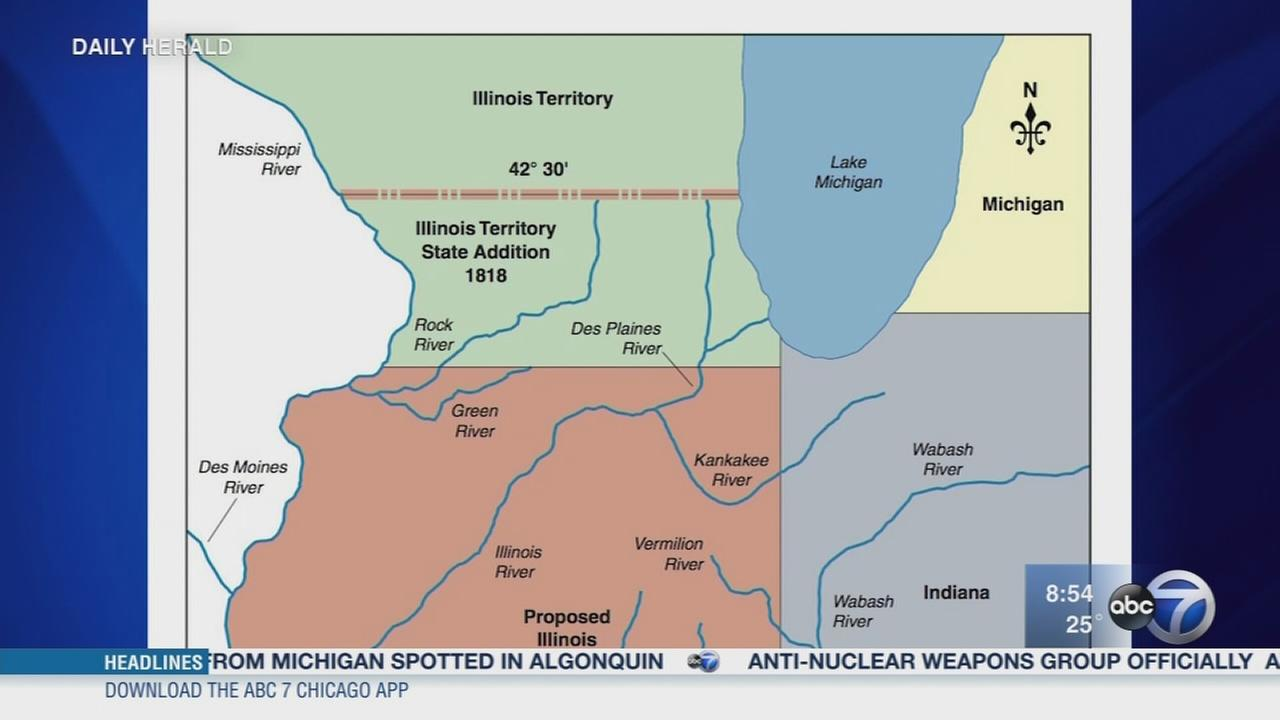 Daily Herald: Chicago area was almost part of Wisconsin