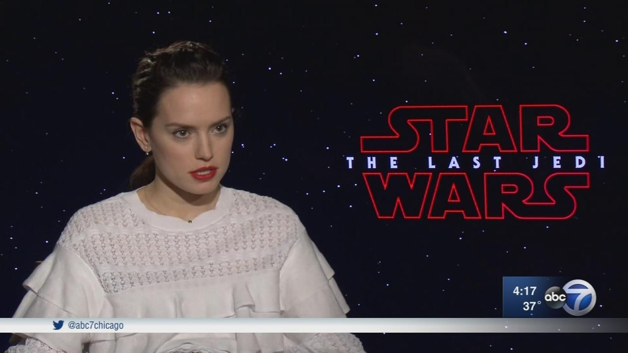Director Rian Johnson, actress Daisy Ridley on Star Wars: The Last Jedi