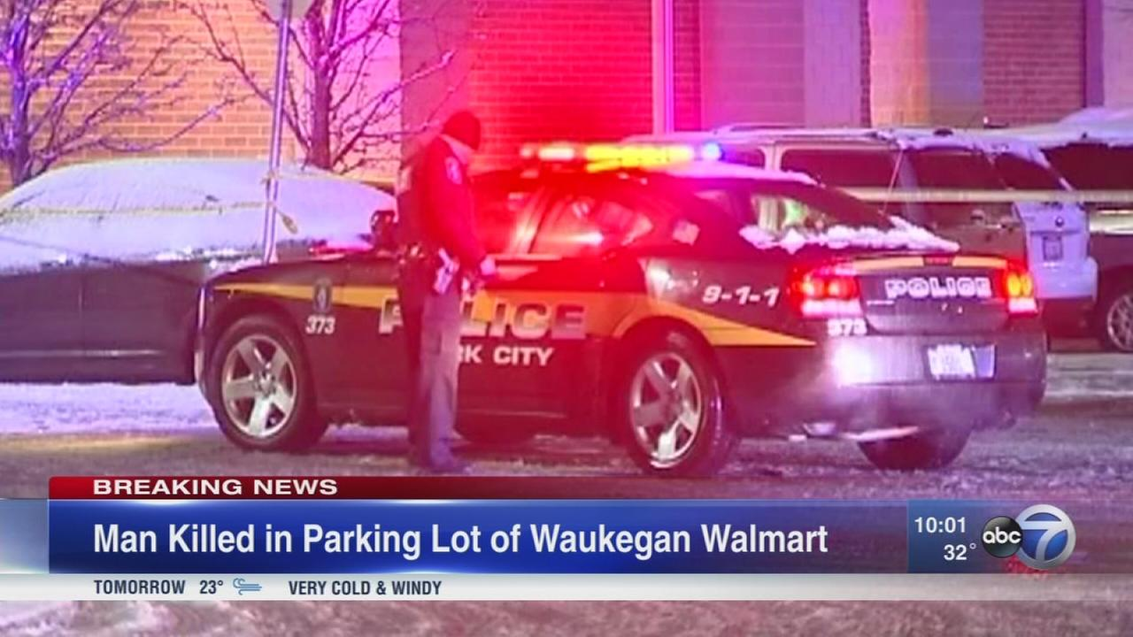 Police investigating death in Waukegan Walmart parking lot as homicide