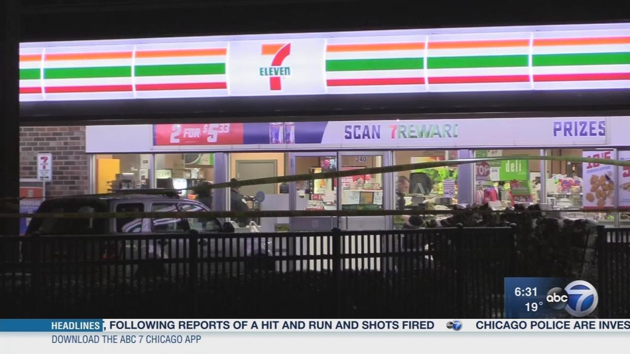 Oak Park 7-Eleven robbed
