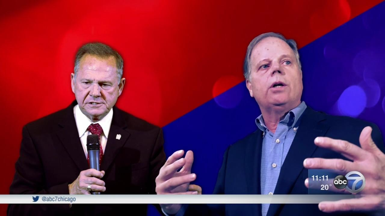 Alabama voters head to polls for senate race