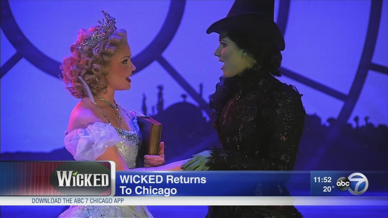Wicked returns to Chicago for encore run