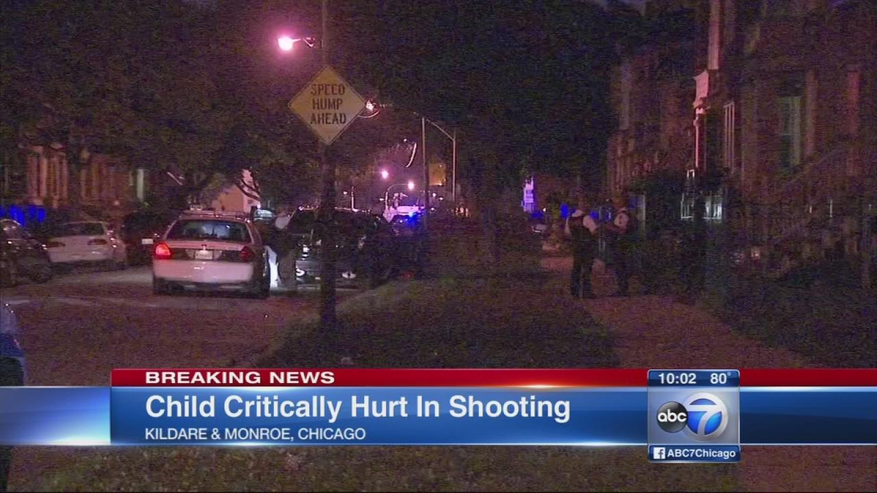 Boy, 3, shot in West Garfield Park home