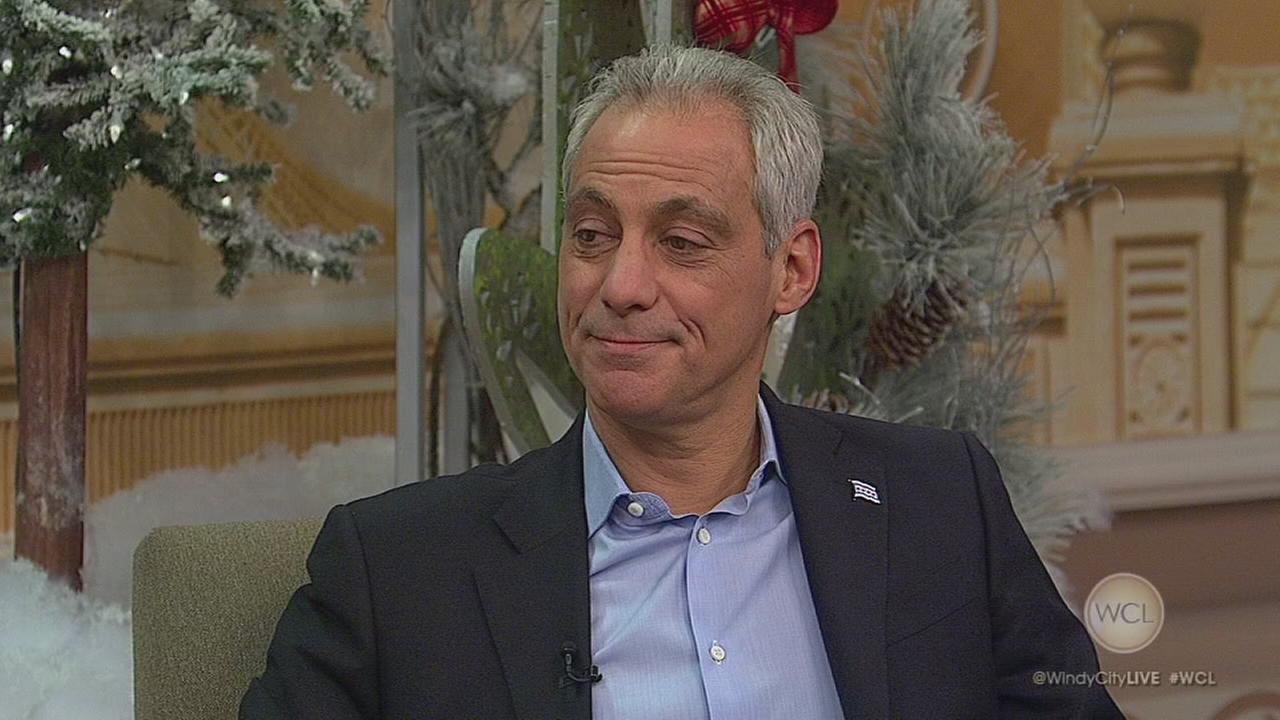 Mayor Emanuel talks ?Late Show? and latkes