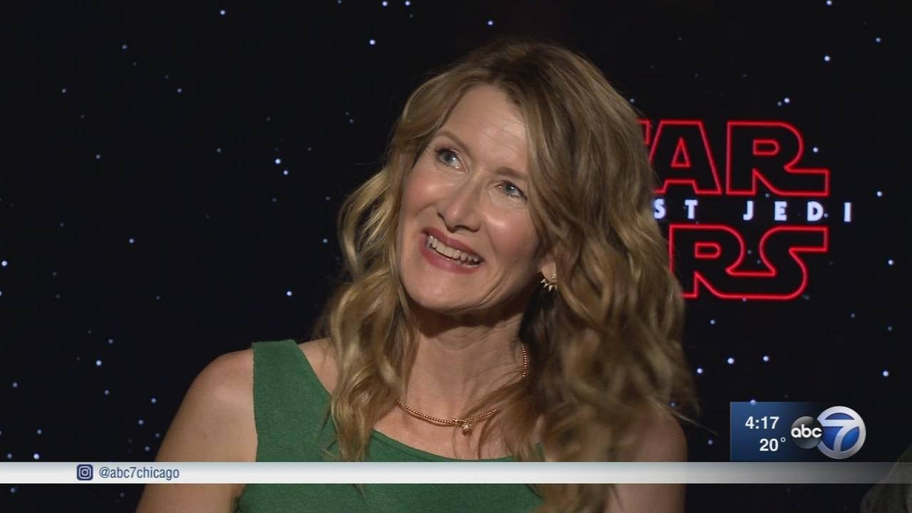 Laura Dern plays new character in Star Wars