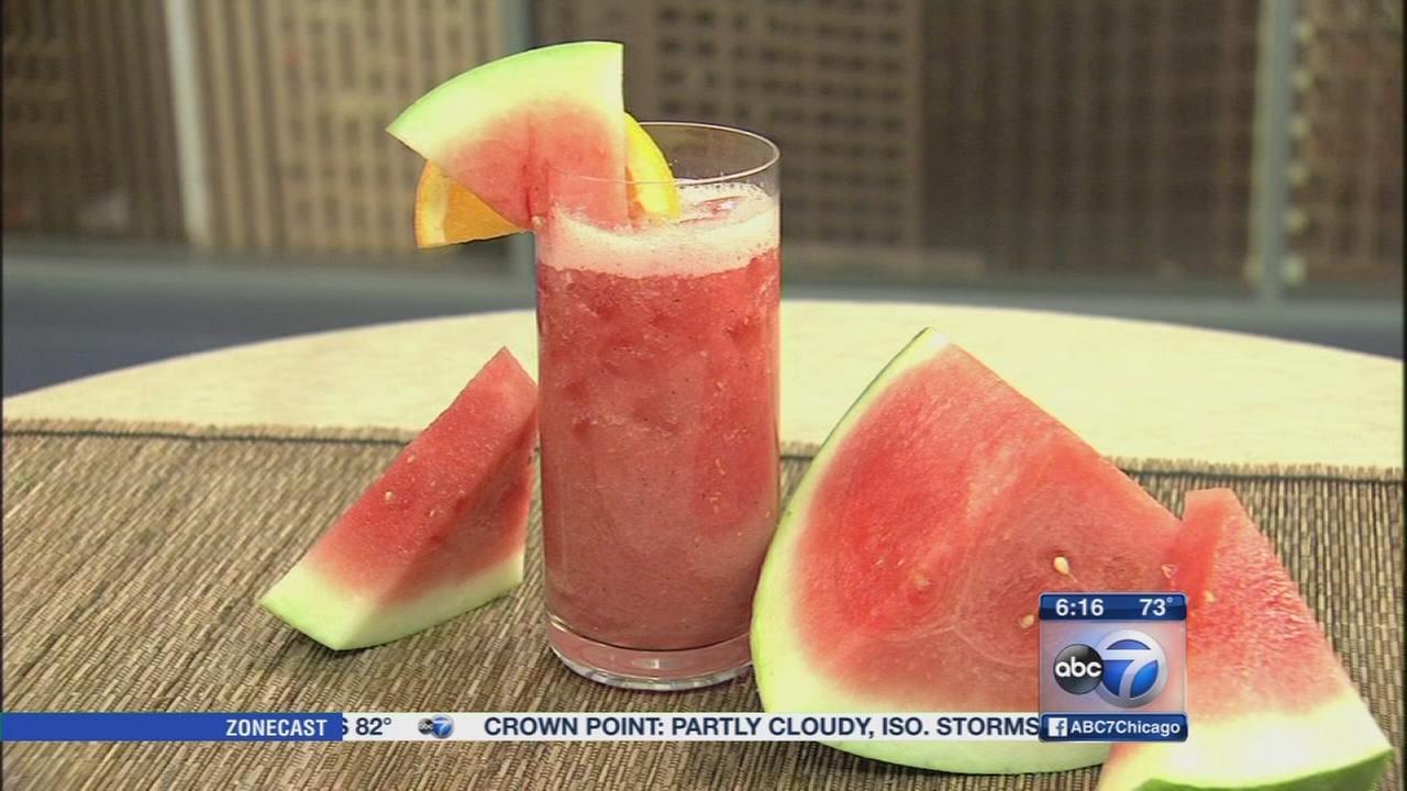 Lets Dish: Watermelon agua fresca