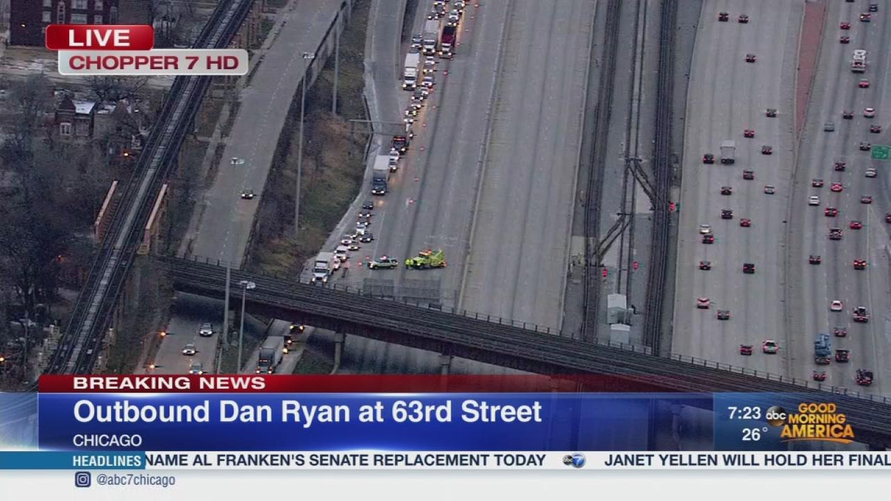 OB Dan Ryan closed at 63rd