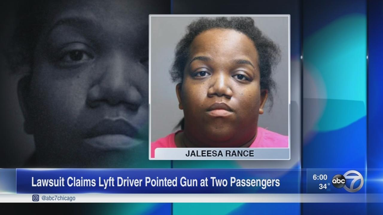 Riders sue Lyft, claim driver used slur and pointed gun at them