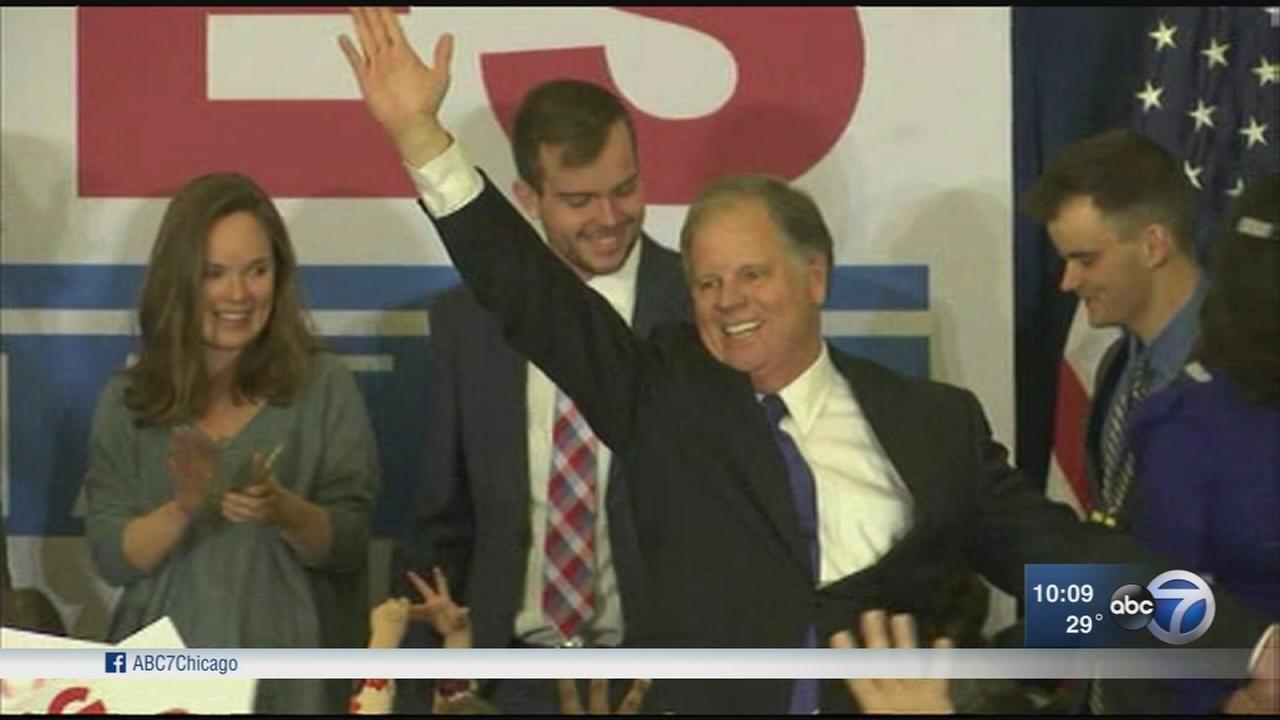 Jones claims victory in Alabama; Moore refuses to concede