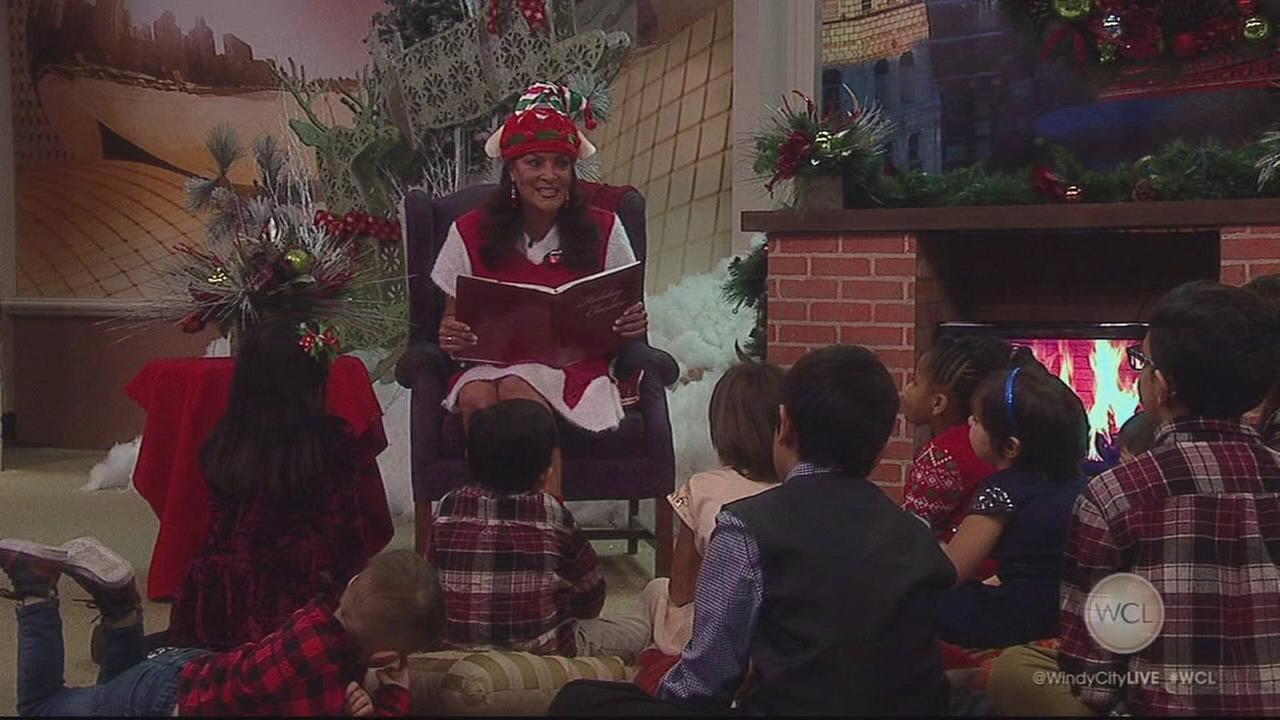 ABC7s Cheryl Burton reads Night Before Christmas