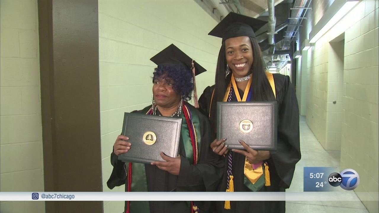Grandmother, granddaughter graduate together from CSU