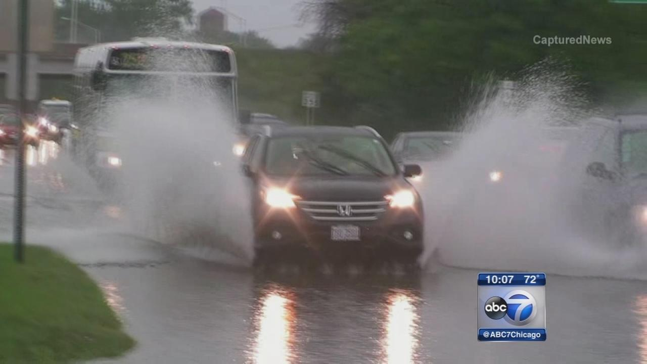 More rain brings more flooding to Chicago area