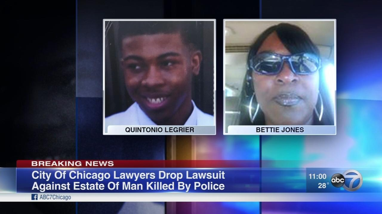 City drops suit against estate of teen fatally shot by Chicago police