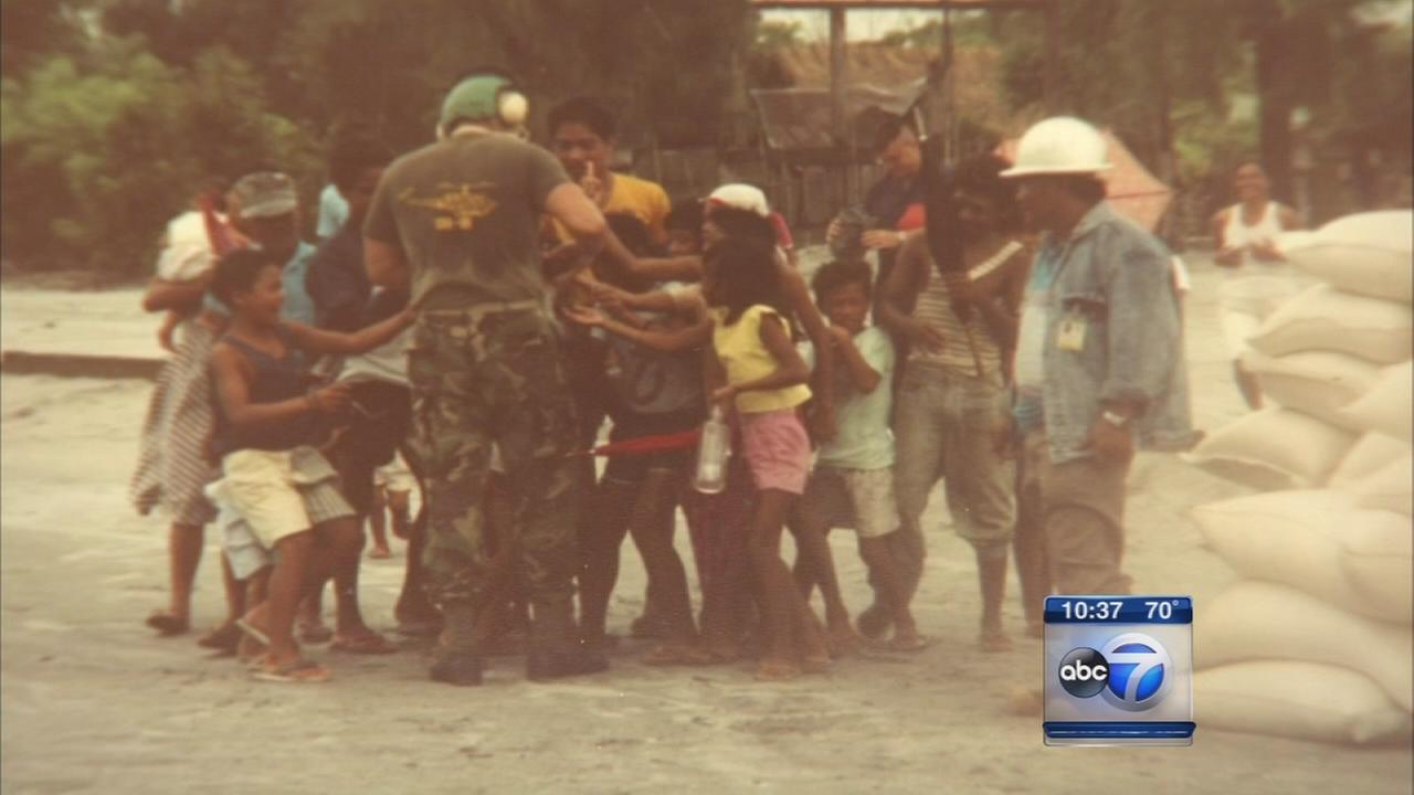 Marine squadron honored for Philippines mission 23 years later
