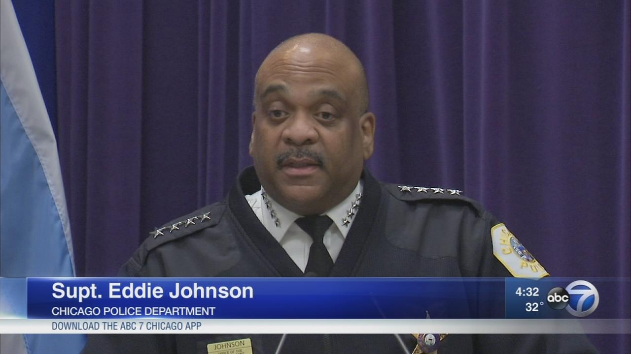 Supt. Johnson touts CPD reforms as Trump calls out city