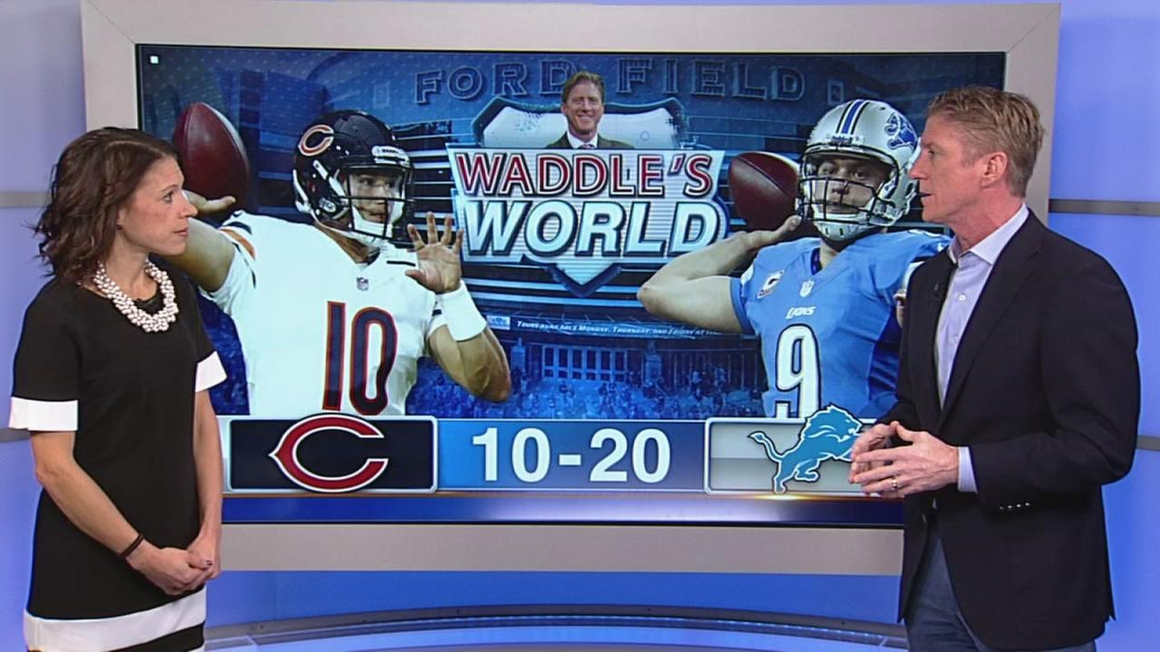 Waddles World: Bears lose to Detroit, 20-10