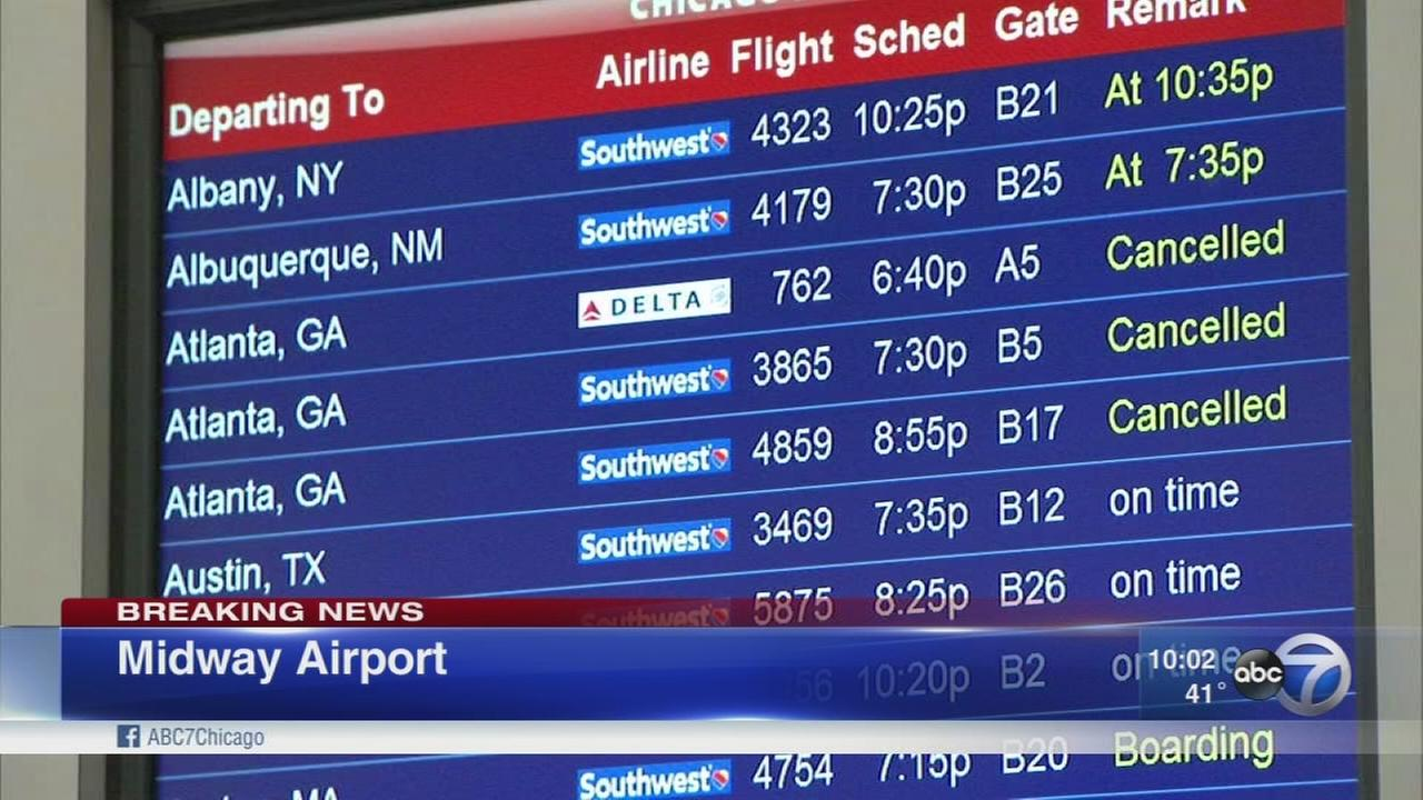 Chicago flights impacted by Atlanta power outage