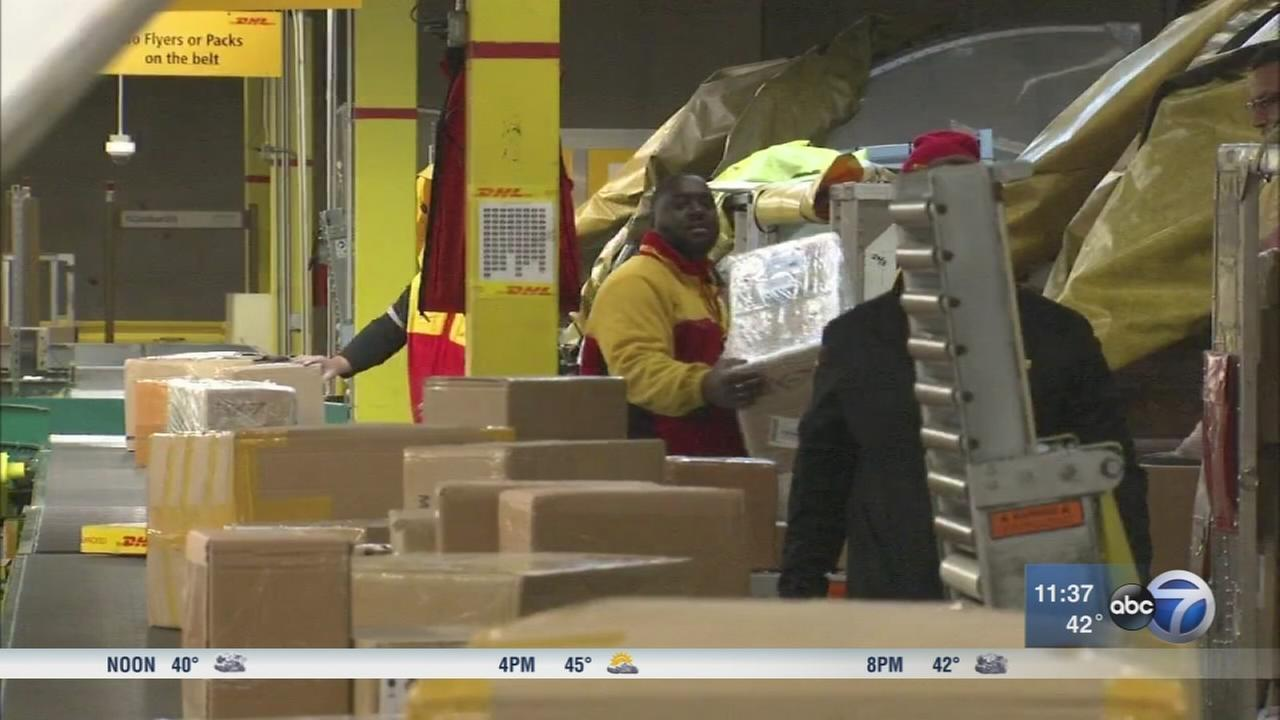 With Christmas a week away, Monday is DHLs busiest shipping day of the year