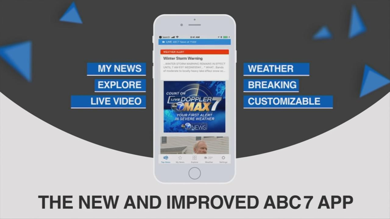 Check out our new ABC7 app!