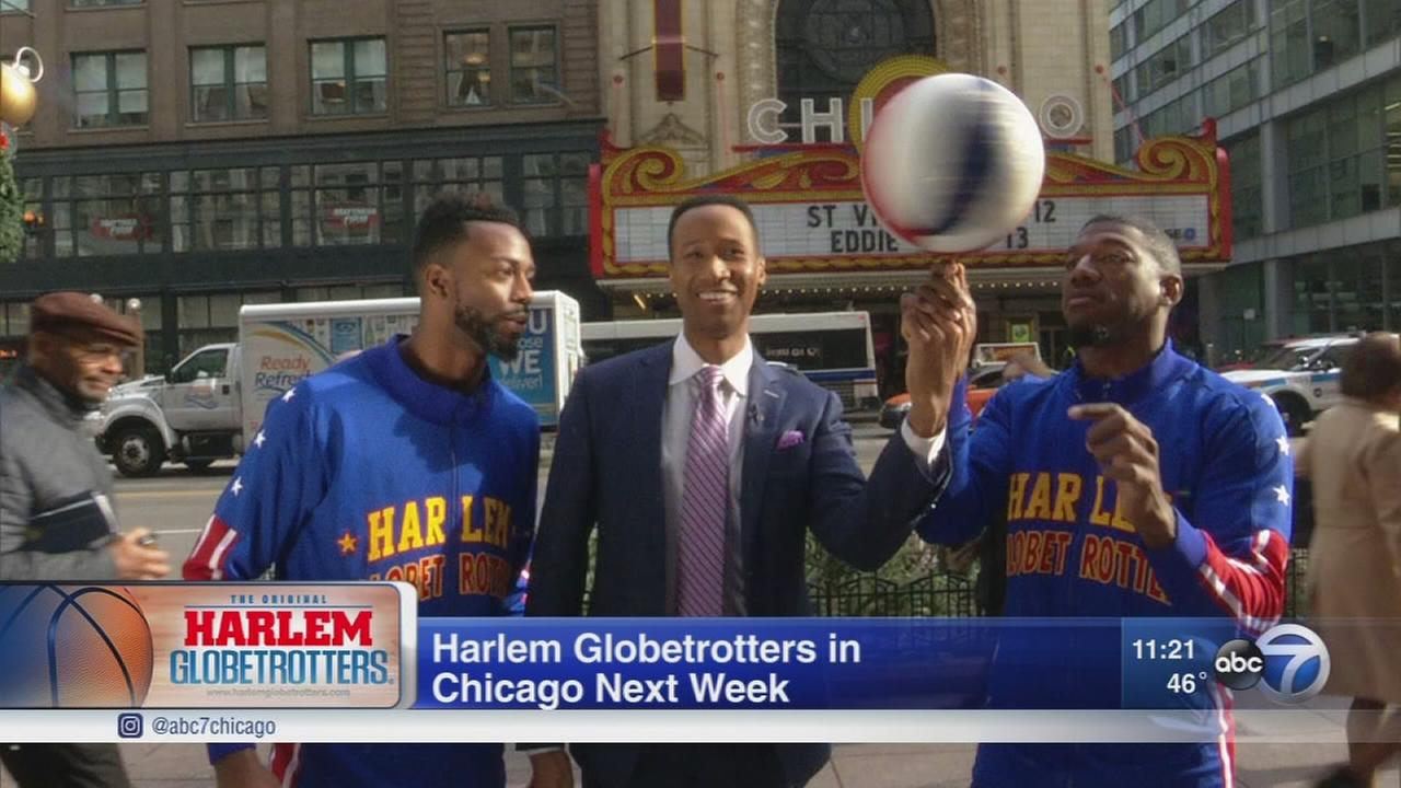 Harlem Globetrotters return to Chicago