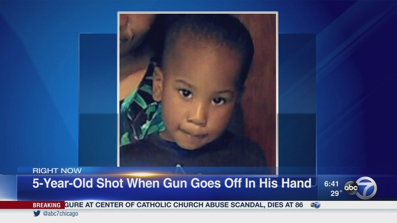 Boy, 5, shot for 2nd time in his life