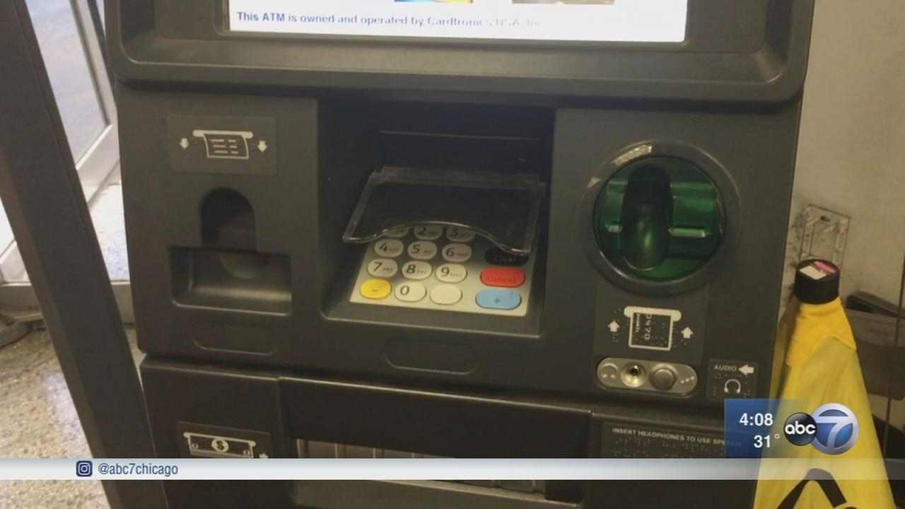 Skimming device found on Loop ATM
