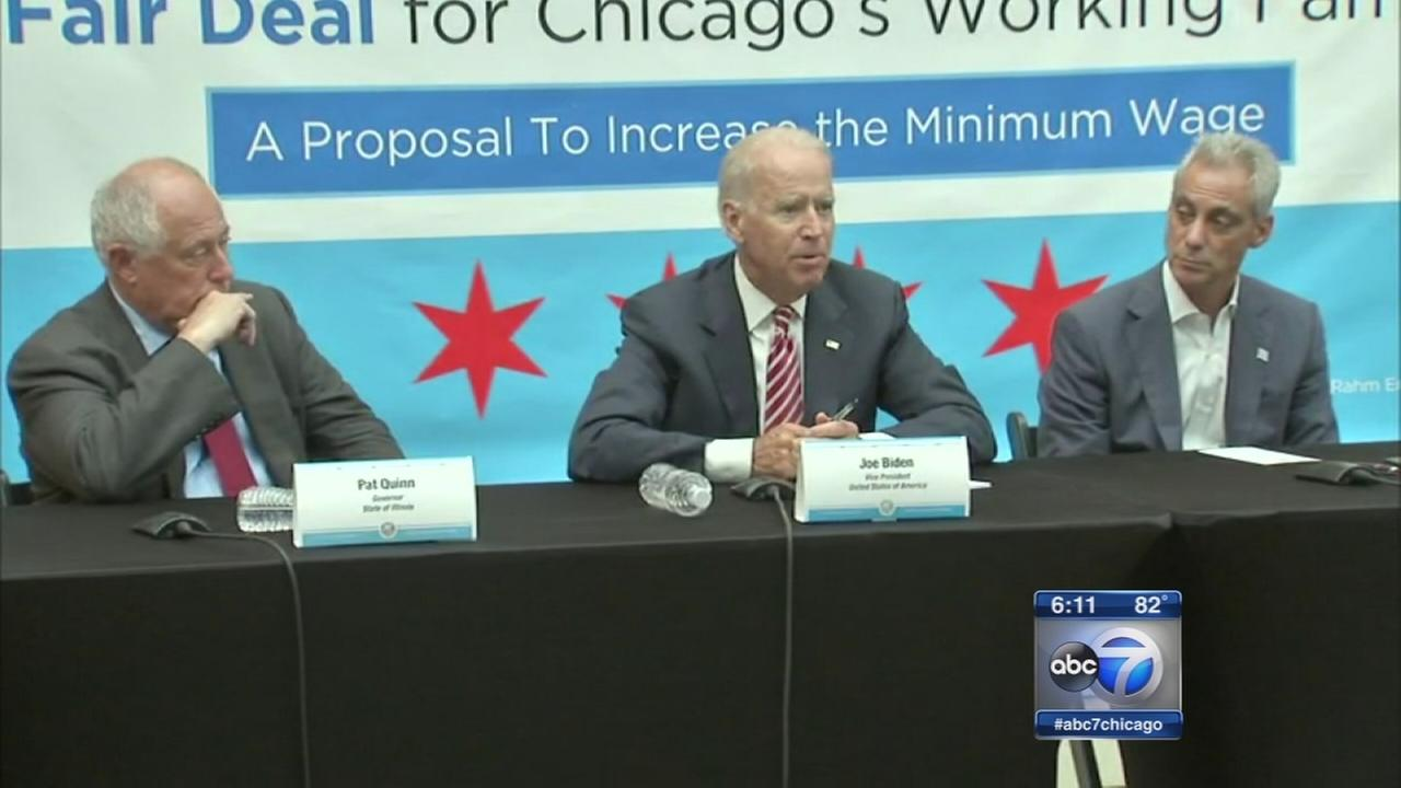 Biden, Christie in Chicago to raise money for Quinn, Rauner