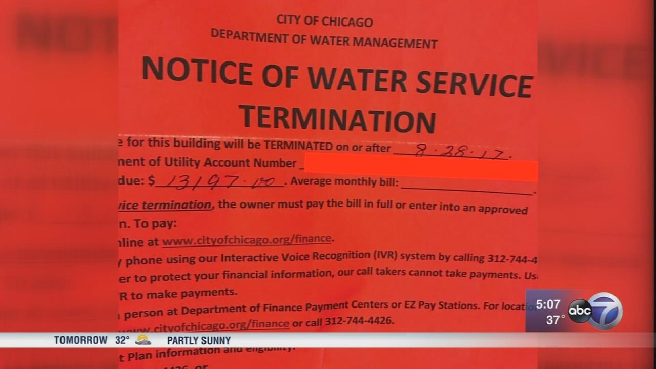 Tenants scared by $13,000 Water bill belonging to Chicago firefighter and landlord
