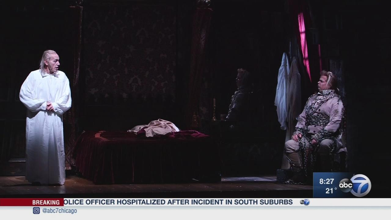 A sensory-friendly performance of A Christmas Carol at the Goodman Theater