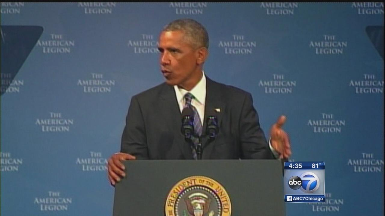 Obama defends handling of Veterans Affairs issues
