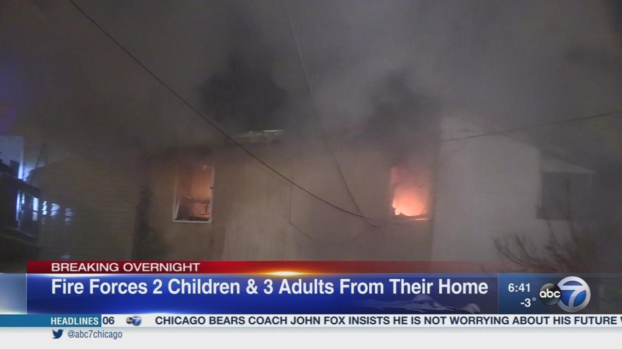 5 displaced by Back of the Yards house fire