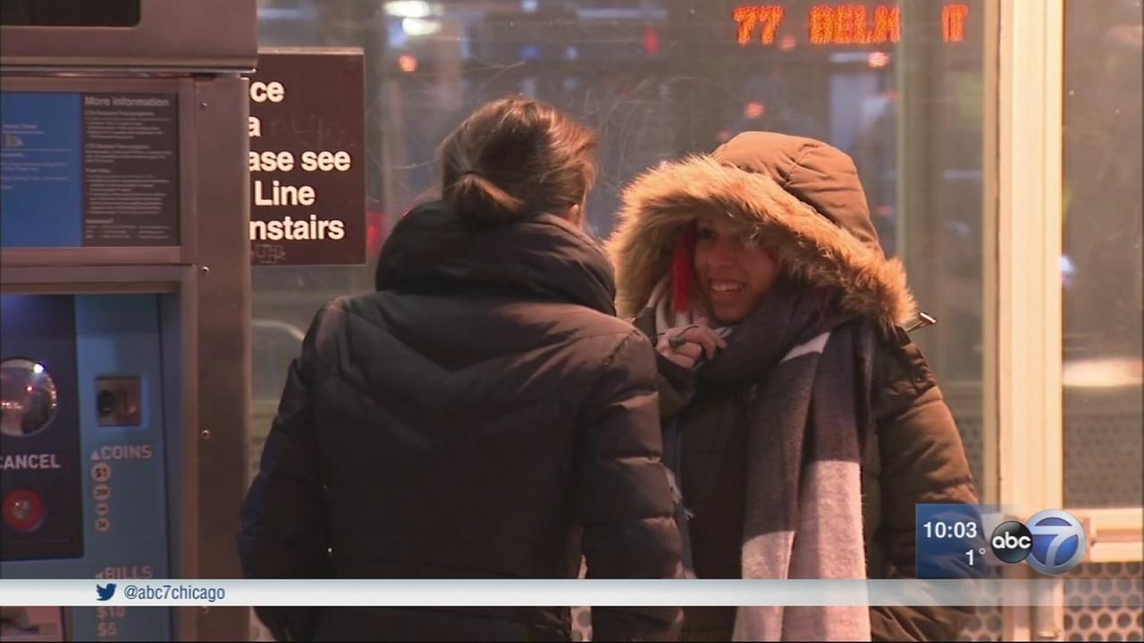 Chicago Weather: Wind chills push temperatures well below zero