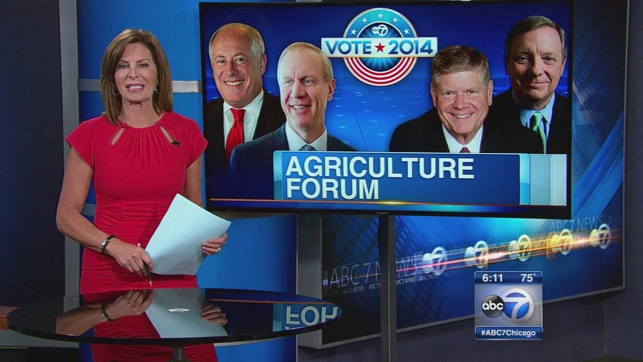 IL agriculture forum attracts Quinn, Rauner