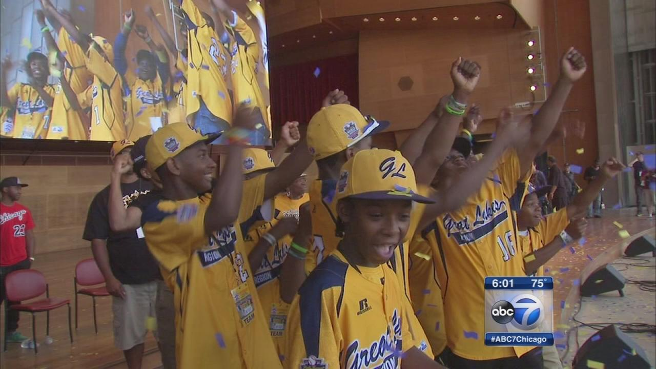 Chicago celebrates U.S. Champions Jackie Robinson West