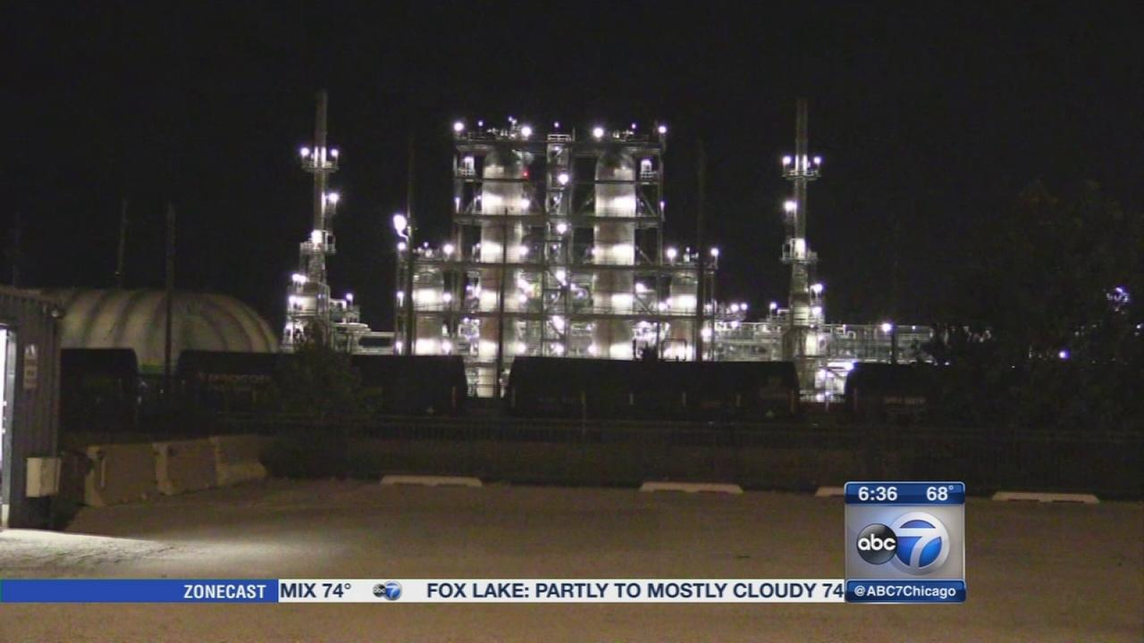 Explosion at BP refinery in Whiting, fire extinguished