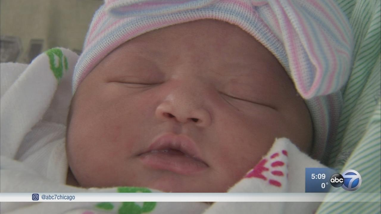 New Years babies born across the Chicago area