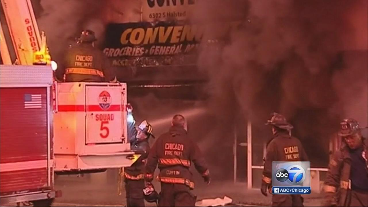 No injuries in Englewood fire